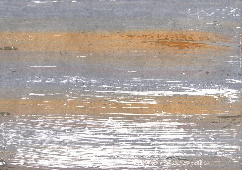 Spaanse grijze abstracte waterverfachtergrond stock foto's
