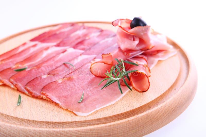 Spaanse ham royalty-vrije stock fotografie