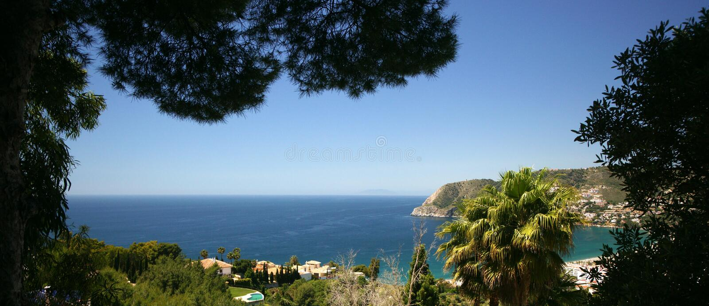 Spaanse Mediterrane Kust stock fotografie