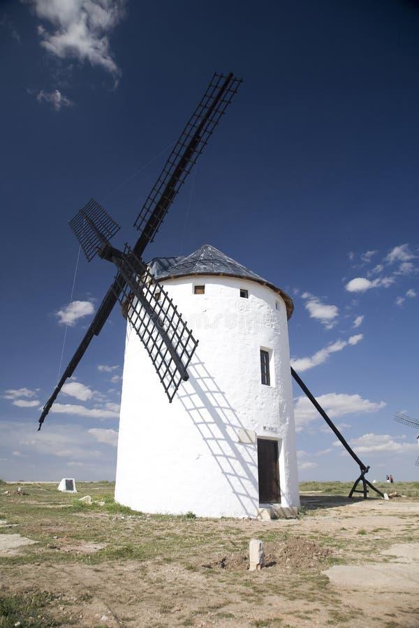 Spaanse molendeur royalty-vrije stock afbeelding