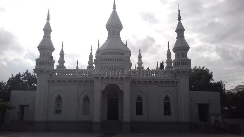 Spaanse Moskee, Hyderabad, Telengana, India royalty-vrije stock fotografie