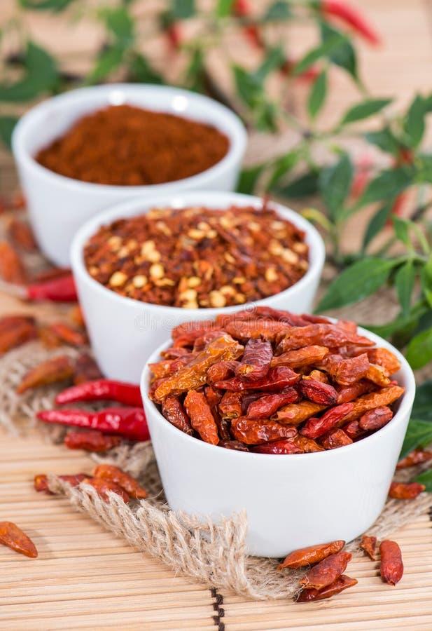 Spaanse peperskruid royalty-vrije stock afbeelding