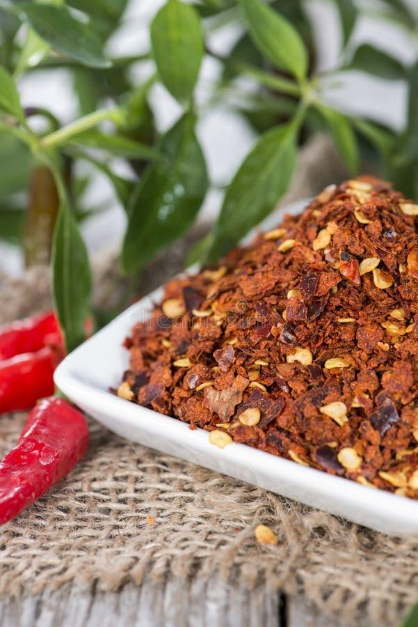 Spaanse peperskruid stock foto