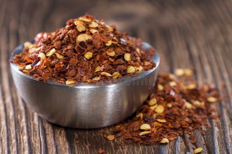 Spaanse peperskruid in een kleine Kom royalty-vrije stock foto
