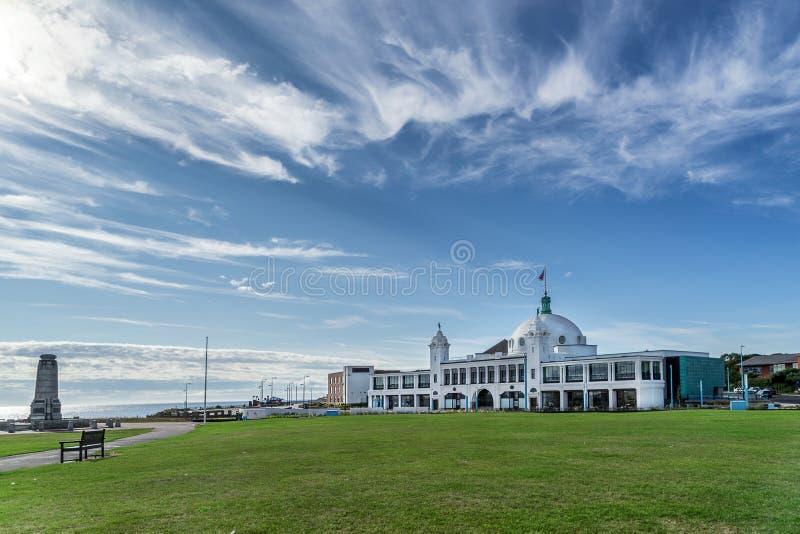 Spaanse Stadskoepel een aantrekkelijkheid in ten noordoosten van Engeland royalty-vrije stock afbeeldingen