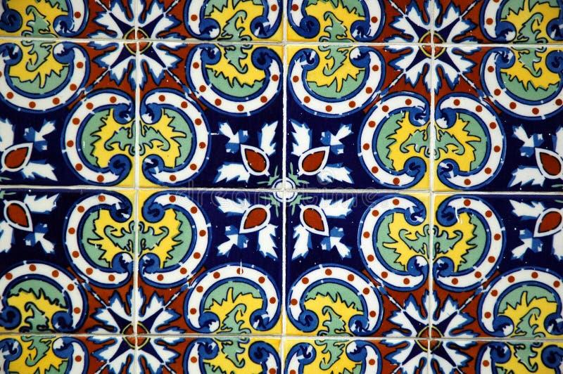 Spaanse Tegel stock afbeelding