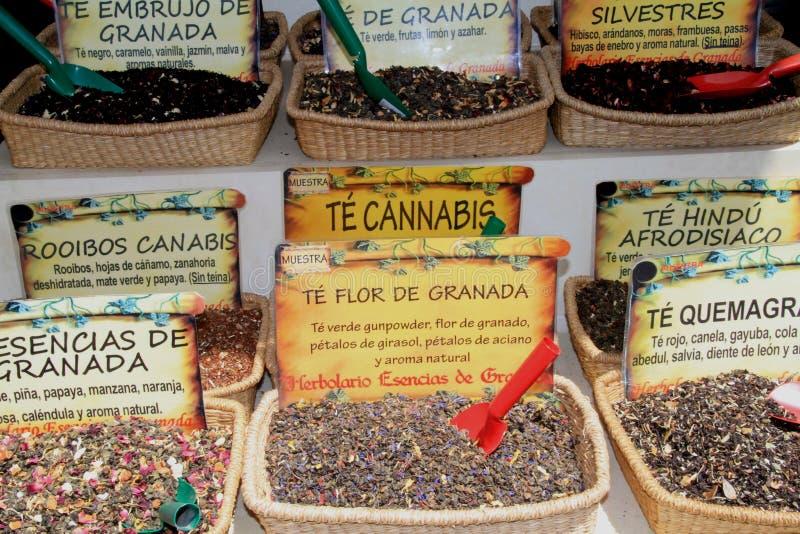 Spaanse thee stock afbeelding