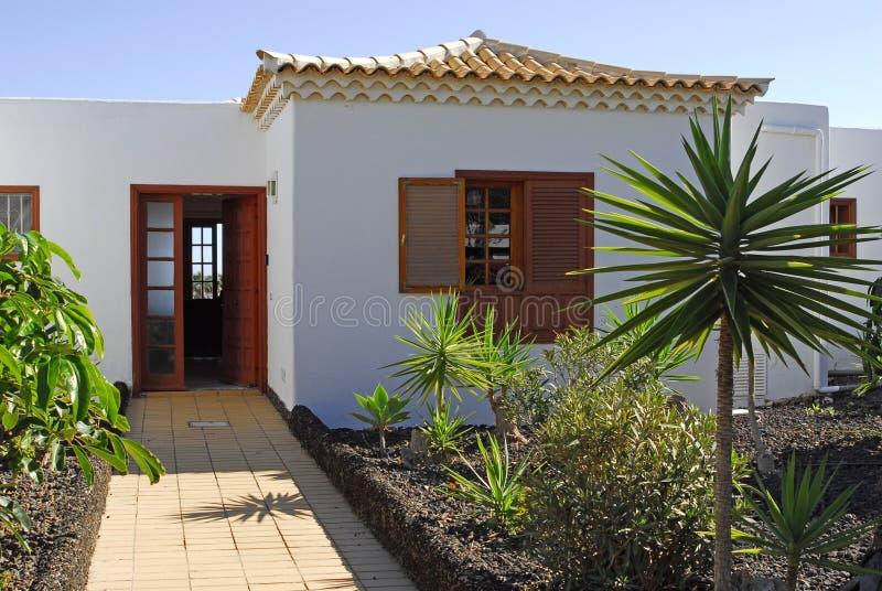 Spaanse villa royalty-vrije stock afbeelding