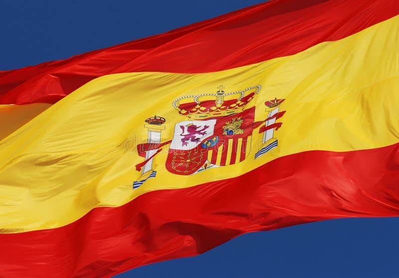 Spaanse vlag stock afbeeldingen
