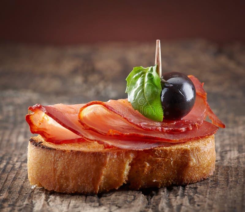 Spaanse voedseltapas royalty-vrije stock foto