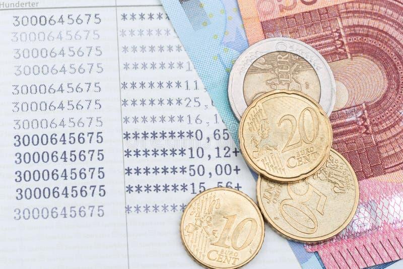 Spaarbankbankboekje royalty-vrije stock foto