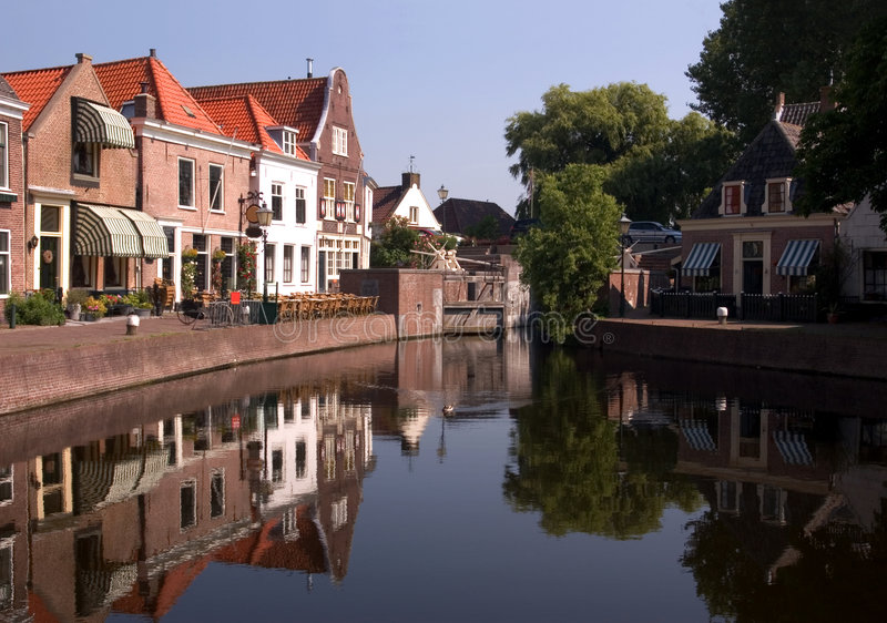 Spaarndam - the Netherlands stock images