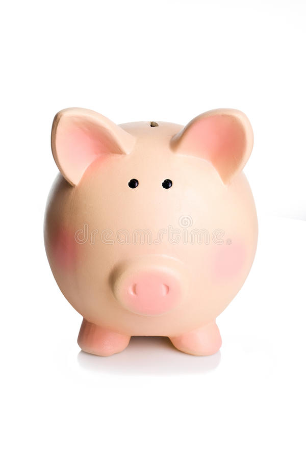 Spaarvarken royalty-vrije stock afbeelding