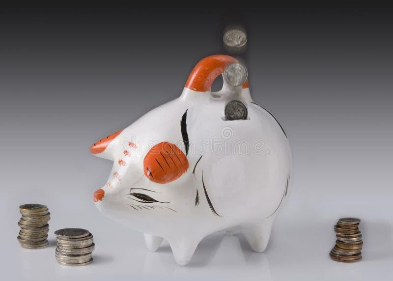 Spaarvarken stock afbeelding