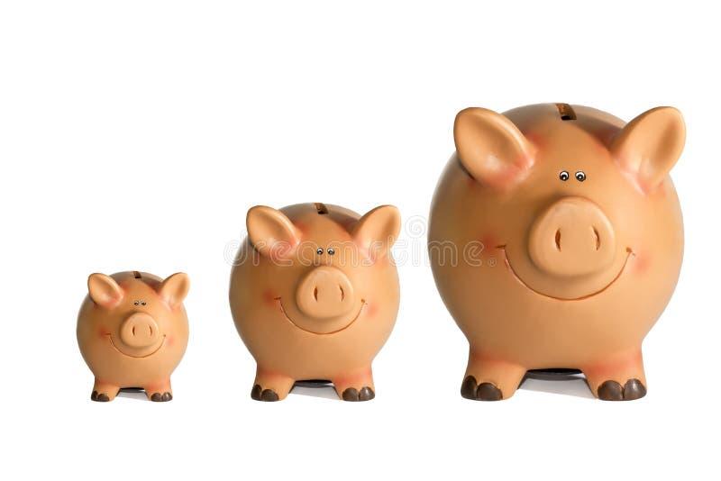 Spaarvarken royalty-vrije stock afbeeldingen