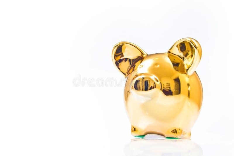 Spaarvarken of geld-doos stock afbeelding
