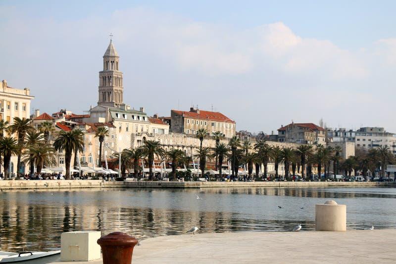 Spaccatura, Croatia fotografia stock