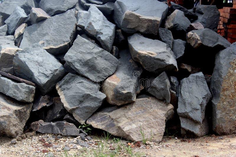 Spaccatura della roccia fotografie stock