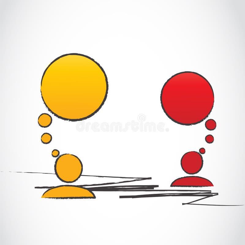 Spacco di comunicazione illustrazione vettoriale