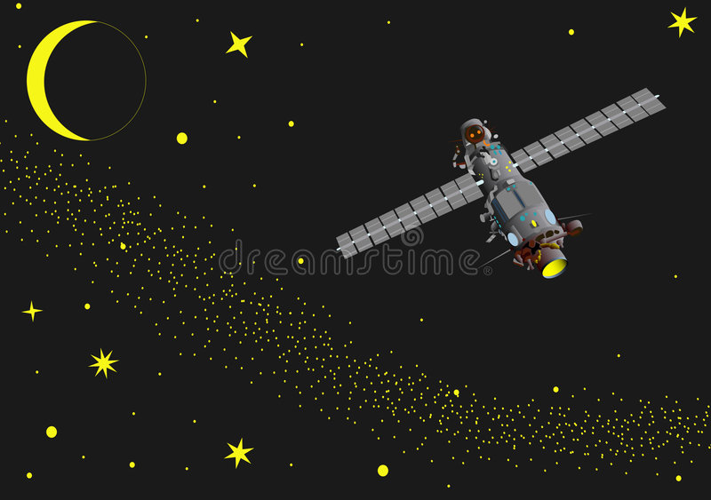 Space 1 stock illustration