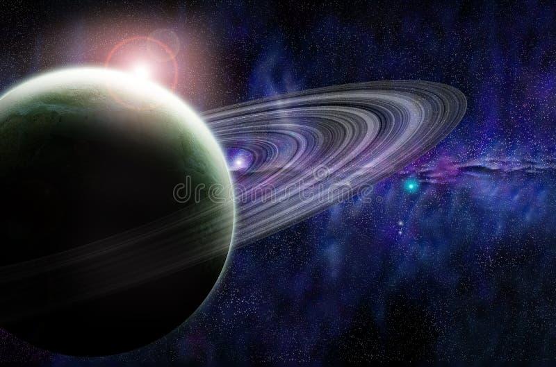 Space stock illustration