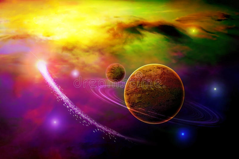 Space stock illustration