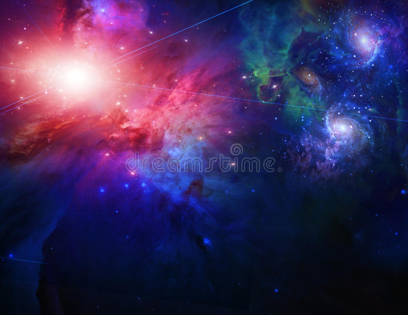 Download Space stock illustration. Illustration of bright, galaxy - 18030295