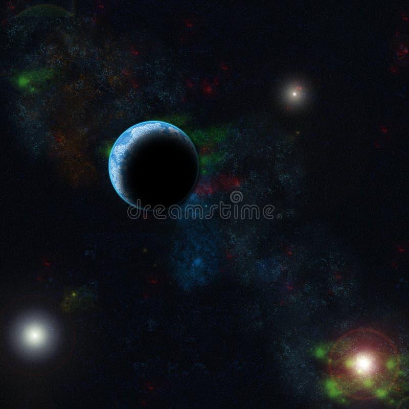 Download Space stock illustration. Image of globe, astronaut, three - 8000786