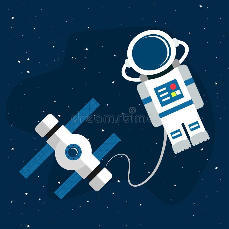 Space1-01 vector illustratie