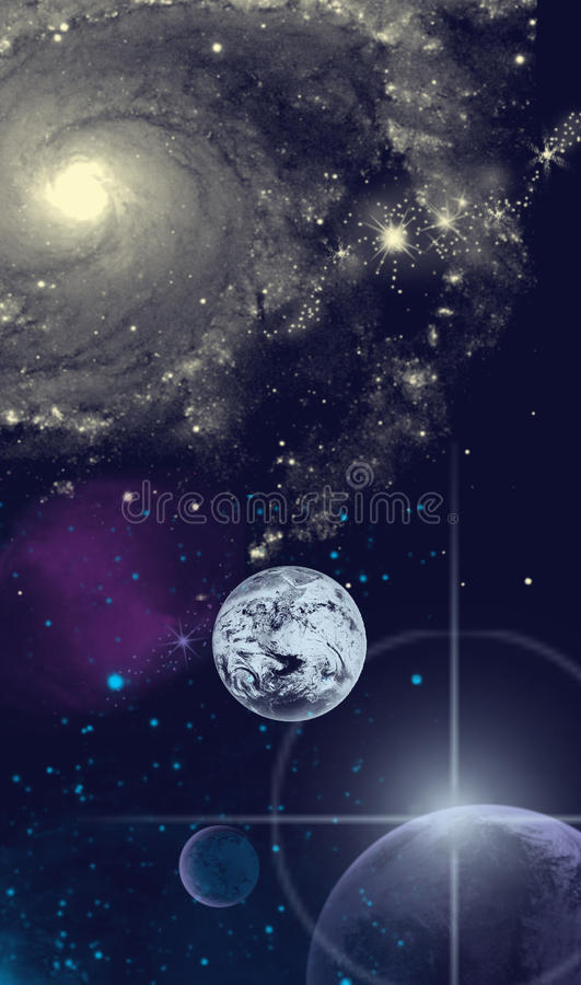Download Space Abstraction stock illustration. Illustration of photography - 14955477