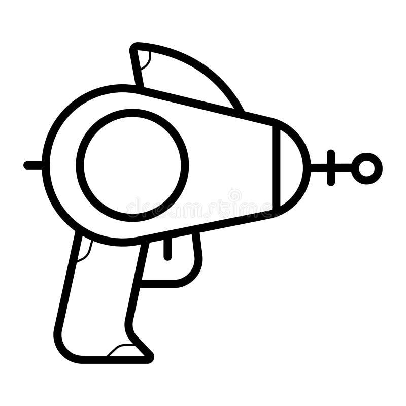 Space blaster icon. Space blaster icon illustration royalty free illustration