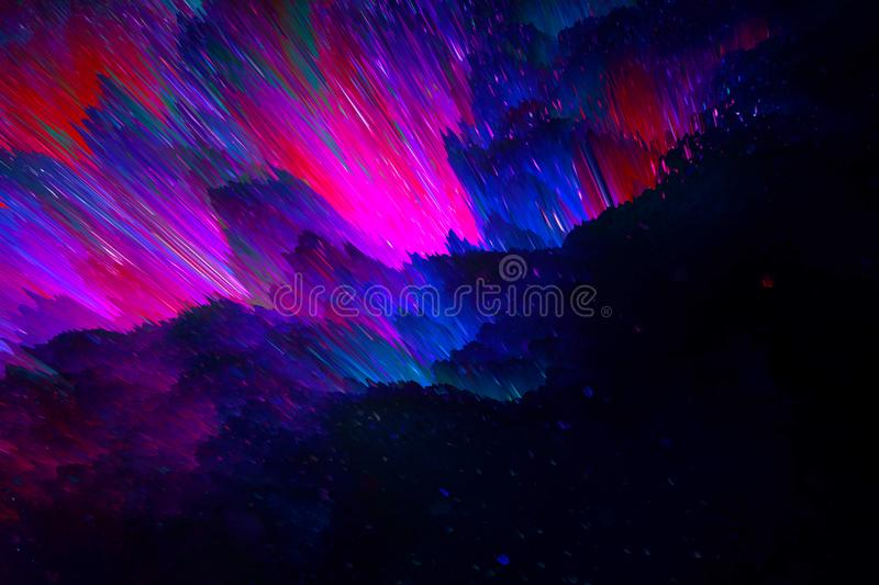 Space bright fantasy abstract background. Cosmic concept. Space bright fantasy abstract background royalty free stock photography