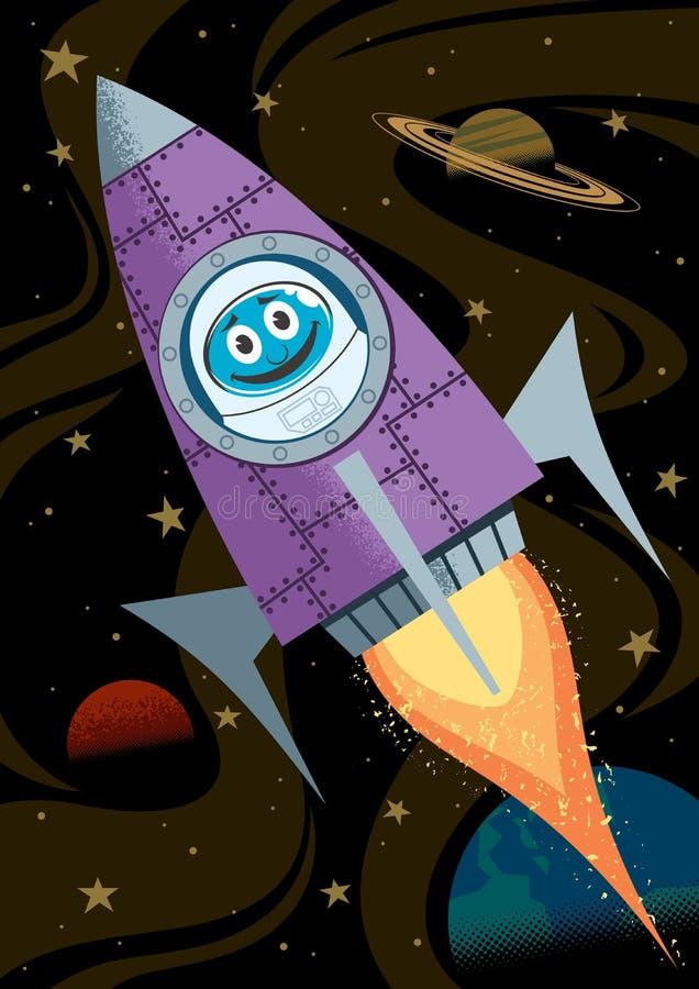 In Space Stock Vector
