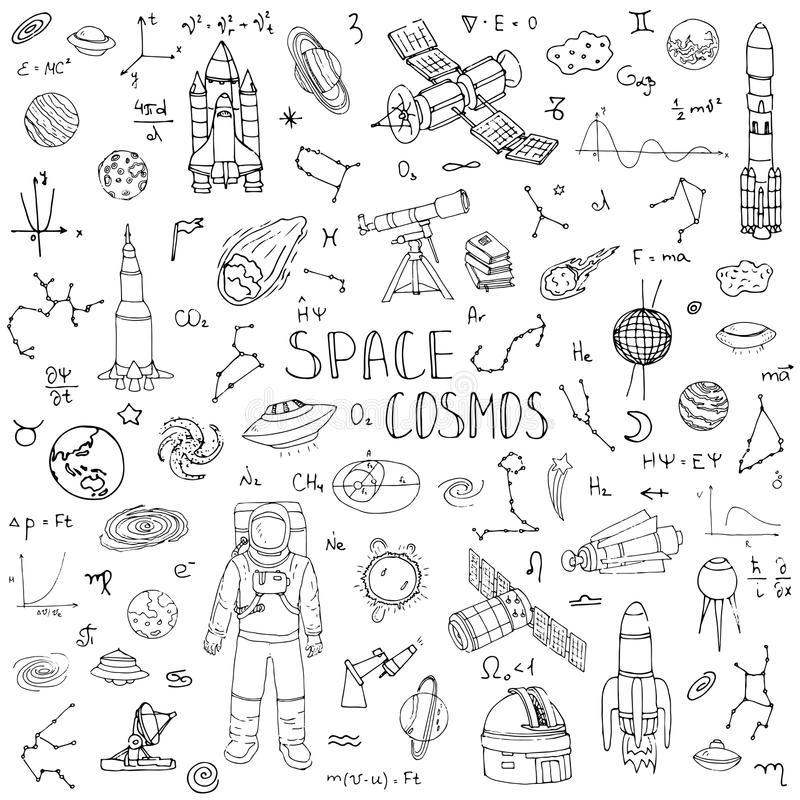 Space_Cosmos ilustracji