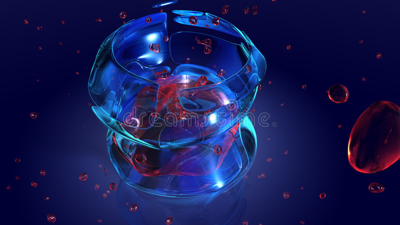 Space drink stock photo