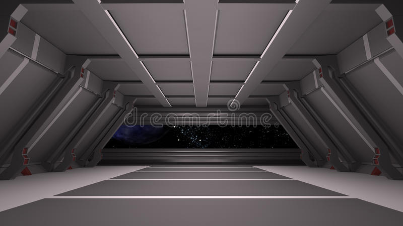 Space environment, ready for comp of your characters.3D rendering. Space environment, ready for comp of your characters.3D stock illustration