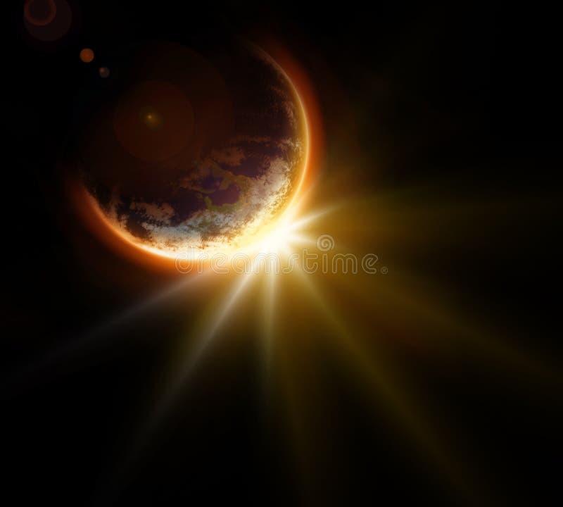 Download Space exploration stock illustration. Illustration of shiny - 23251440