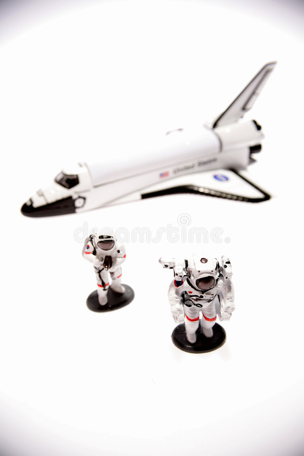 Space Exploration Toys royalty free stock image