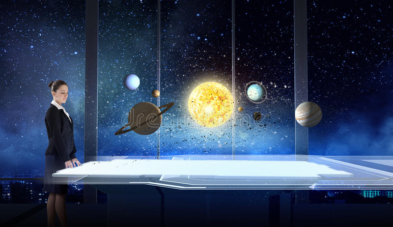 Space exploration royalty free stock photos