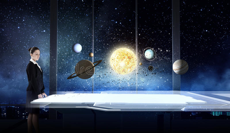Space exploration stock images