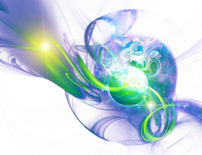 Download Space is in a fractal stock illustration. Image of large - 13065724