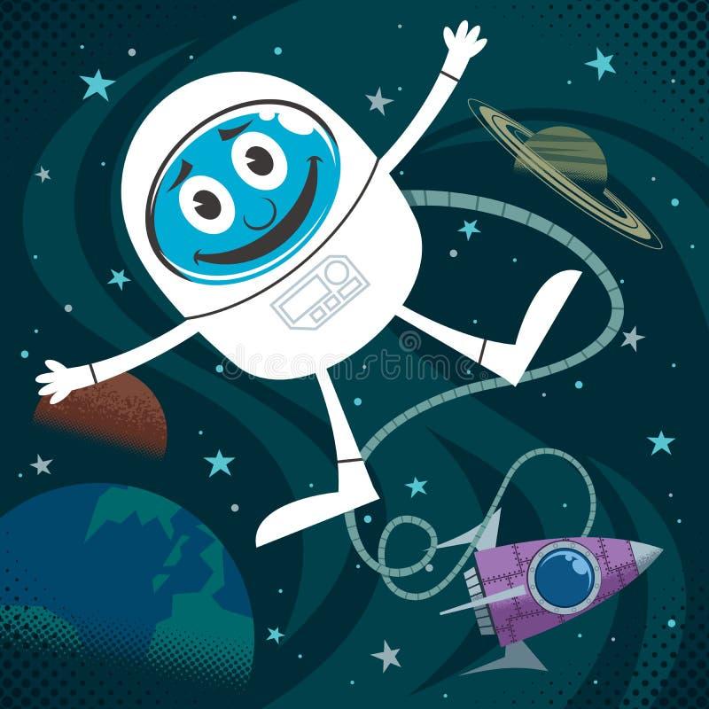 Download Space Fun stock vector. Image of explorer, astronaut - 39400312