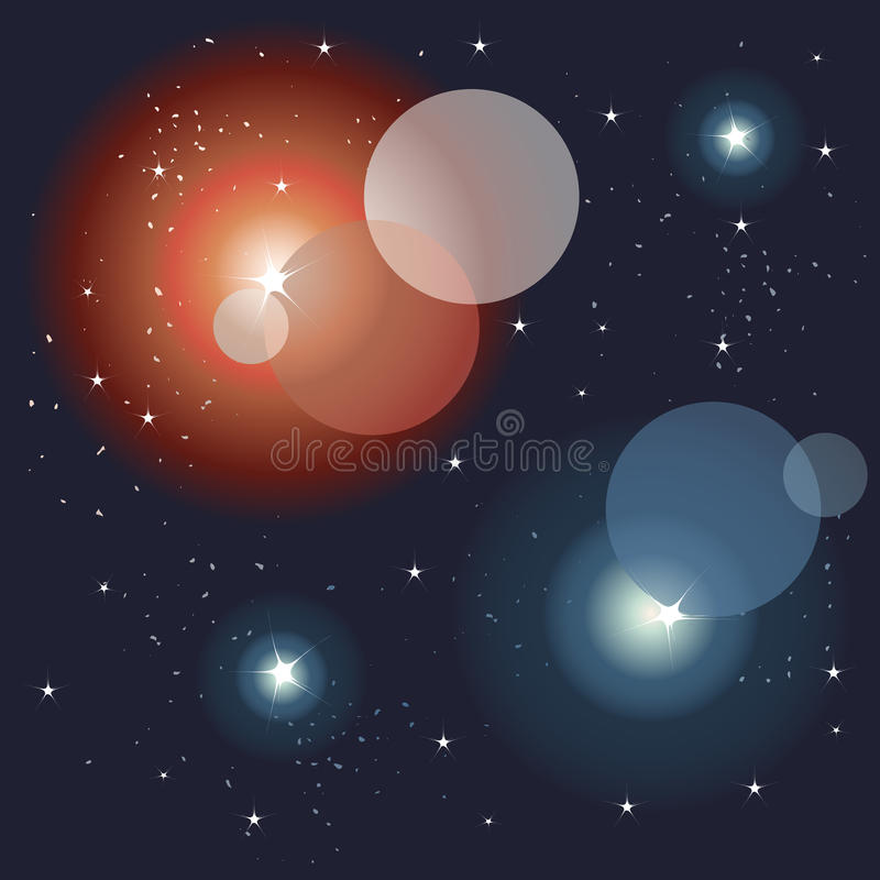 Download Space, Glittering Lights Background Stock Vector - Image: 21655786