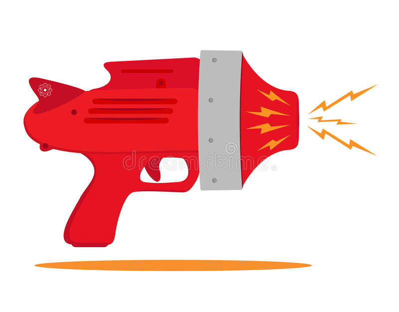 Space gun royalty free illustration