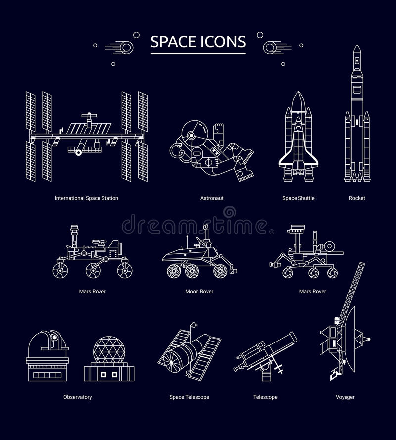 Free Space Icon Royalty Free Stock Image - 85783656