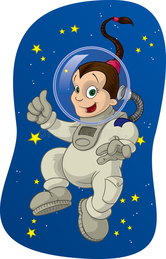 Space Kid #2. The joys of outer space, as experienced by the space age of childhood. 2 of 4
