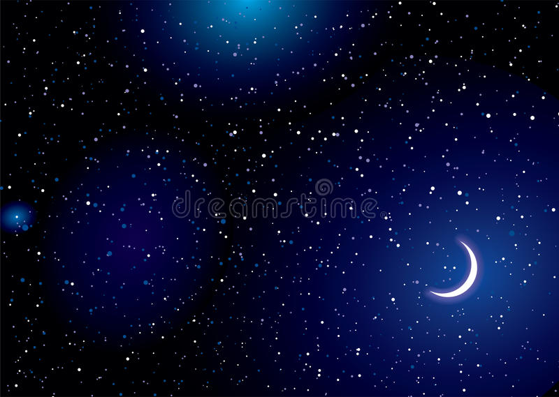 Download Space landscape moon stock vector. Illustration of many - 20499195