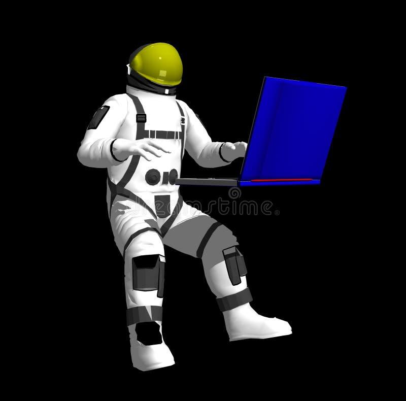 Space man royalty free stock image