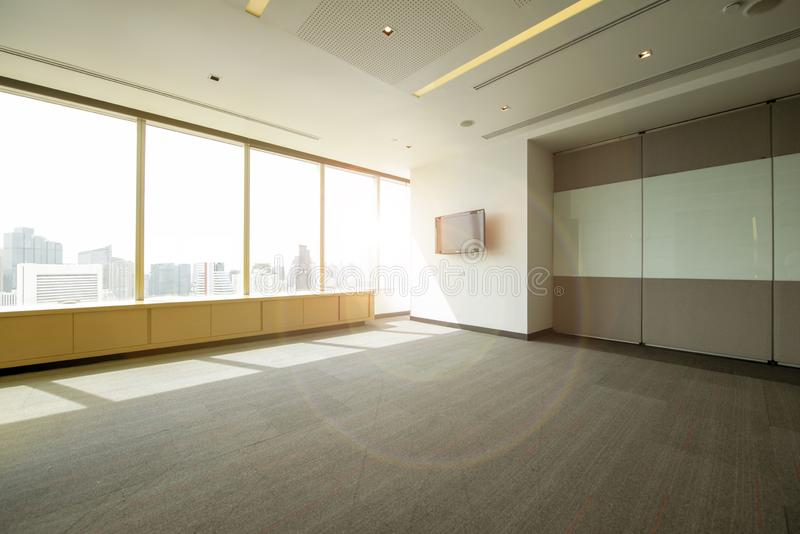 Space for meeting - co space working office room for background royalty free stock photos