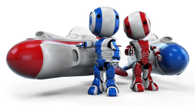 Download Space Men Stock Photo - Image: 8042400